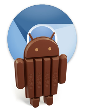 Android : Les applications HTML5 vont carburer sous KitKat