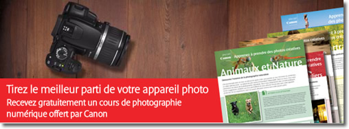 cours photo canon