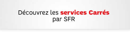 header services carres sfr